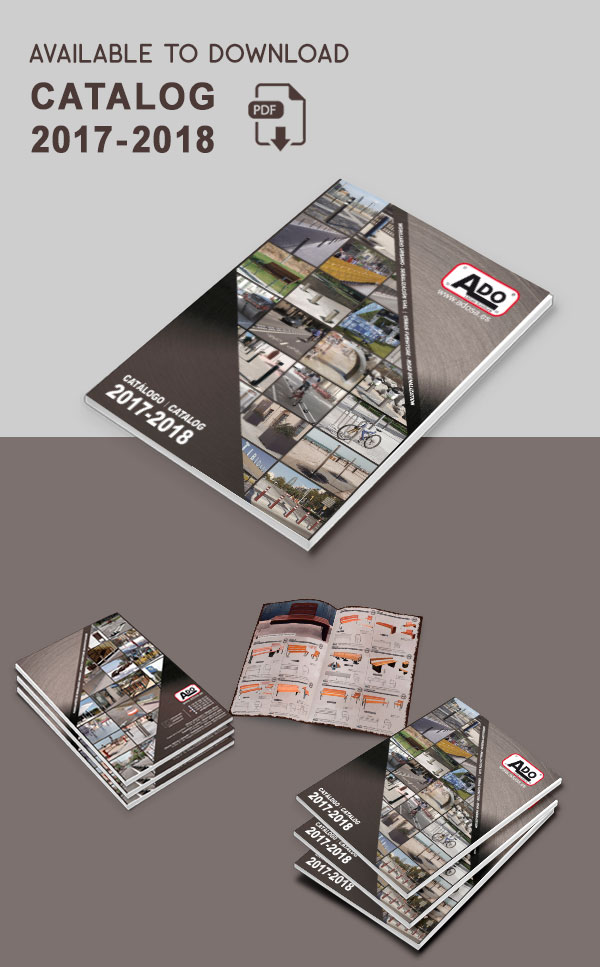 Download our new urban furniture catalog 2017-2018