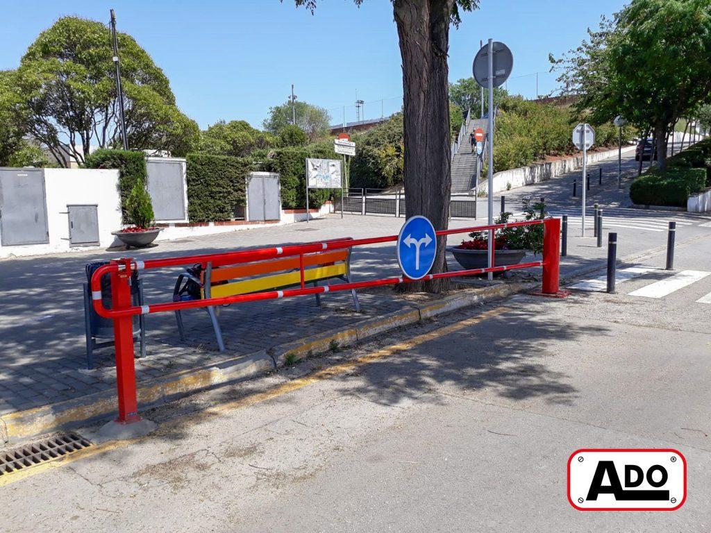 barrier bg-bge installed